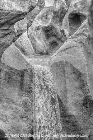 Fountain in the Mountain II B&W _H1R6237