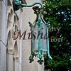copper lantern on a church in downtown Tulsa,OK