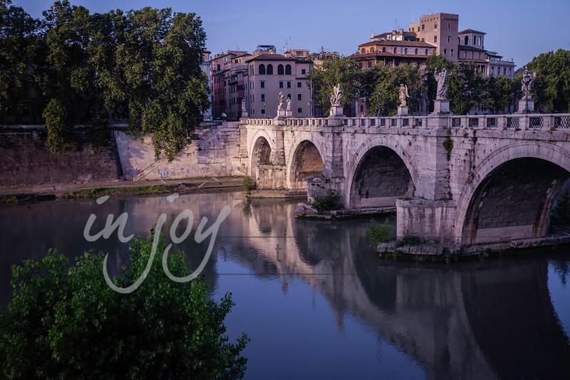 Tiber River, Rome, Italy