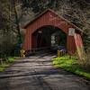 North Fork Yachats River Covered Bridge, Oregon