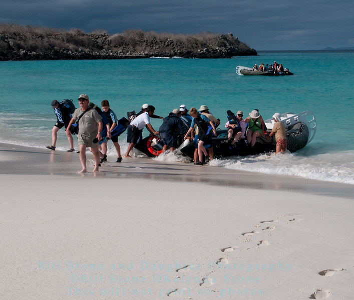 Hitting the Beach-Isla Espańola-Galapagos