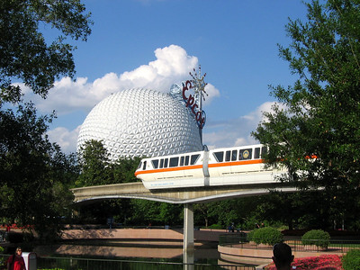 Epcot and Tram