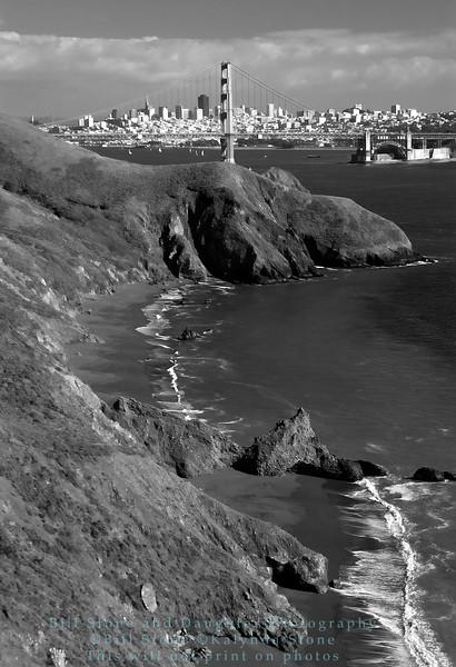 San Francisco from Marin headlands