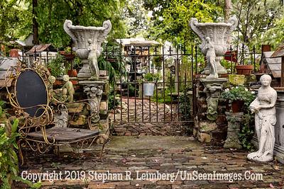 Gate at Dovecote Shop Ash Street - Copyright 2015 Steve Leimberg - UnSeenImages Com _Z2A6308