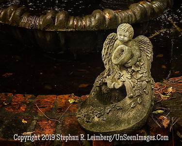 Angel Boy in Fountain - Copyright 2015 Steve Leimberg - UnSeenImages Com _Z2A6293