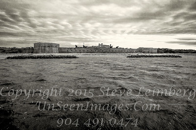 Fort Clinch from Sea - Copyright 2016 Steve Leimberg - UnSeenImages Com _L8I6554