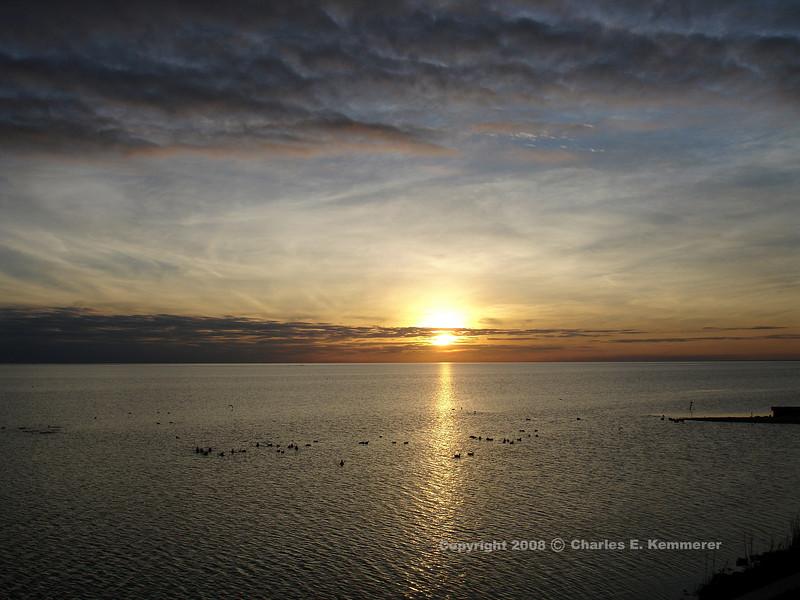 Final Sunset on Copano Bay, Texas...