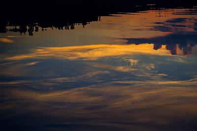 Sunset shapes