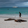 Beach-Isla Espańola-Galapagos