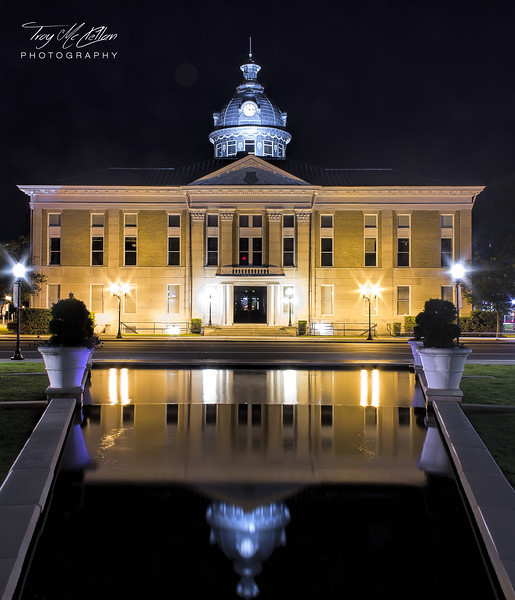 Historic Polk County Courthouse in Bartow, Florida