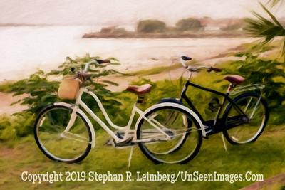 Bicycles - Plaza Ft San Carlos - Copyright 2015 Steve Leimberg - UnSeenImages Com _H1R0253
