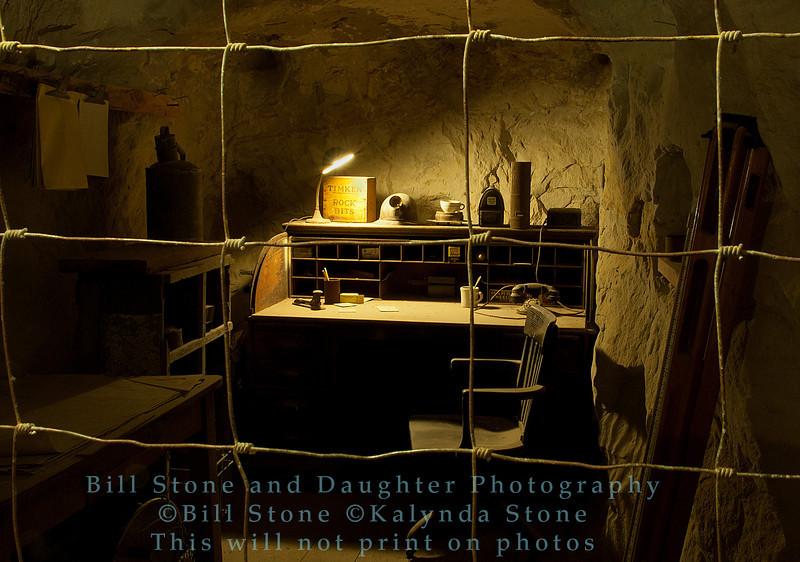 Mine shift office - Black Diamond Mines