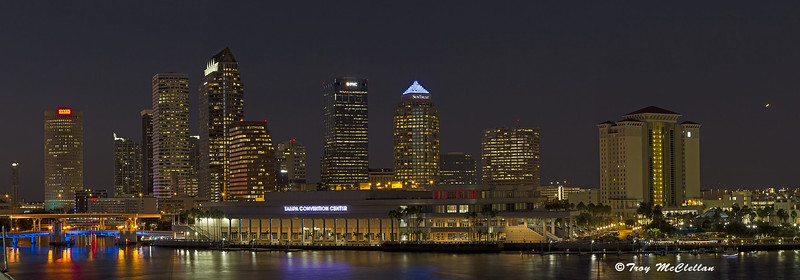 Downtown Tampa at Night
