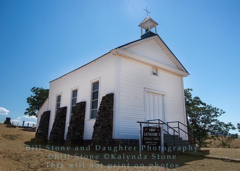 Saint Caterine's Catholic Church - Hornitos, California