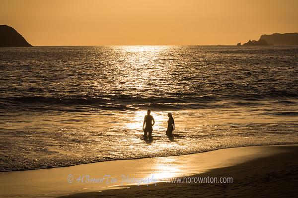 """""""Golden Hour"""" on the Beach"""