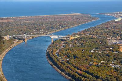 Sagamore Bridge Over Cape Cod Canal
