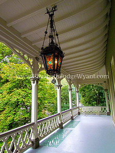 Asa Packer Mansion Porch, Jim Thorpe, PA