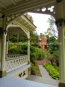 Asa Packer Mansion Porch, Jim Thorpe, PA
