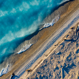 Point Betsie Beach from Above
