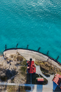 Point Betsie Lighthouse Aerial