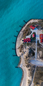 Point Betsie Lighthouse 1x2 Aerial