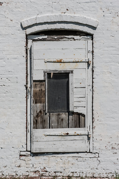 Door to a smokehouse.
