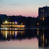 Poole Park reflection