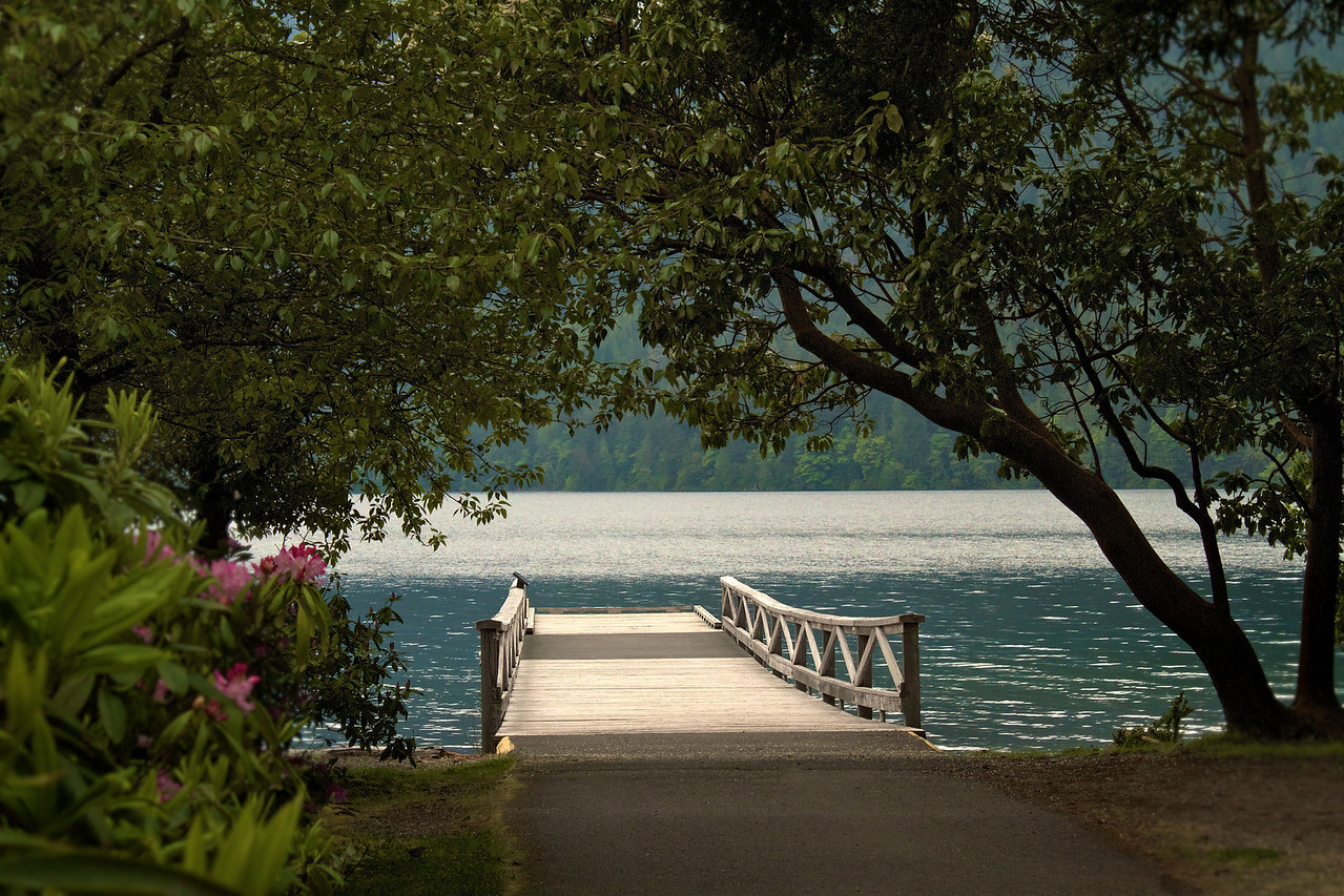 Lake Crescent.