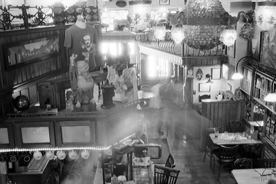 Ghosts at the Coffee Shop