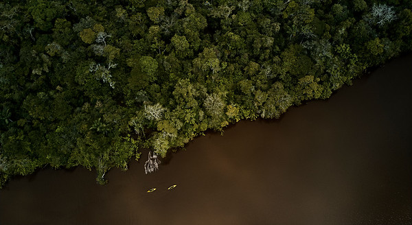 Kayaking in the Brazilian Amazon