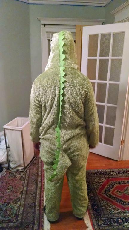 Andrew the Alligator, Nov 2017