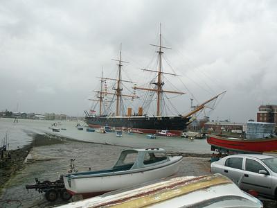200804 Portsmouth UK - Historic Dockyards