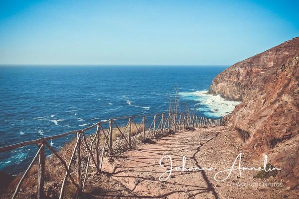 Madeiran Porto Santo, pieni uinuva saari Atlantin aaltojen syleilyssä