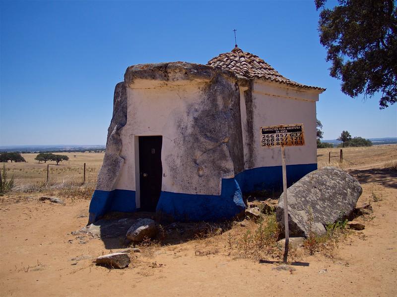 Dolmen-Chapel of São Brissos, Anta-Capela de Nossa Senhora do Livramento
