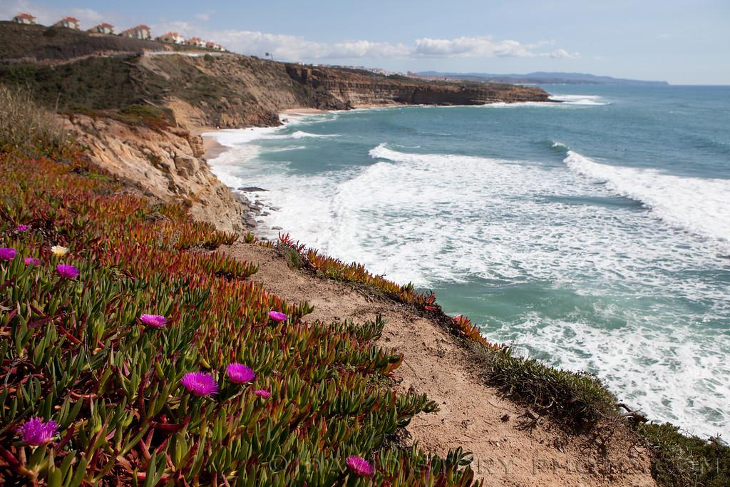 Praia Ribeira D'Ilhas, Ericeira, Portugal.
