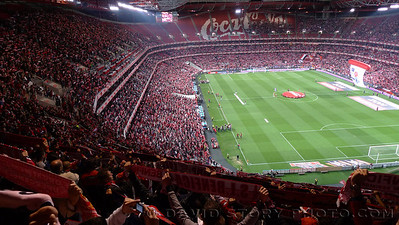 Benfica vs. Braga, Estádio da Luz, Lisbon, Portugal.