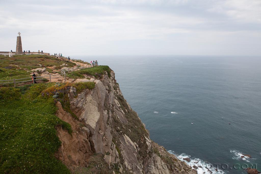 Cabo da Roca, westernmost point in Europe. Portugal.