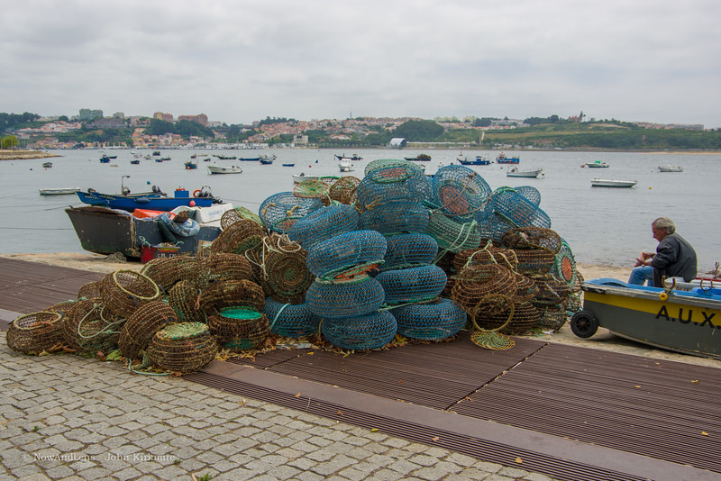 Fisherman and nets, Porto