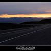 Austin Summit Nevada, sunset