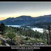 Silver Lake California before sunrise. Seven Exposures.