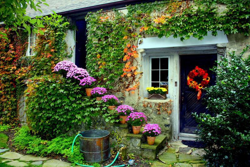 Ali's front door