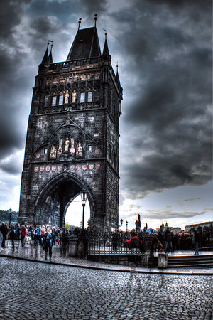 Ghosts in Prague, Old Town Bridge Tower