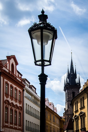Gaslights in Prague