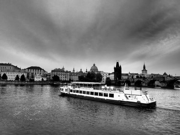 Prague riverboat