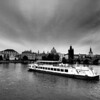 Prague riverboat