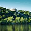 Parthenon like building along the Danube