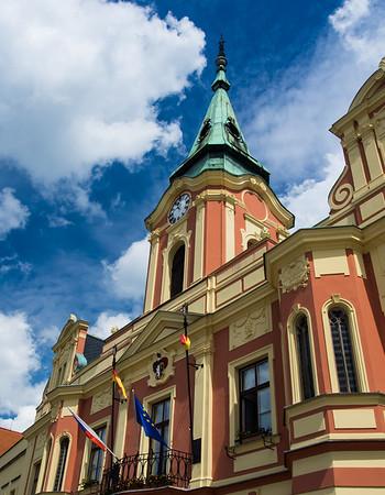 Melnik, Czech Republic, typical architechture