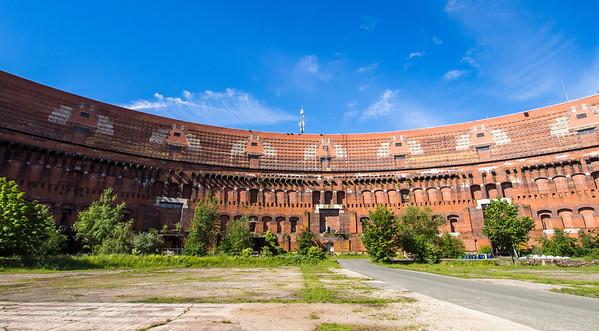 Nazi museum, arena where Hitler gave speeches