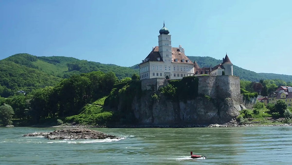 Monastery along the Danube