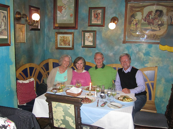 Dinner, last night in Prague